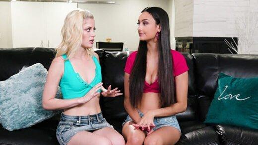 [GirlsWay] Charlotte Stokely, Eliza Ibarra (My Boyfriends Porn / 02.02.2020)