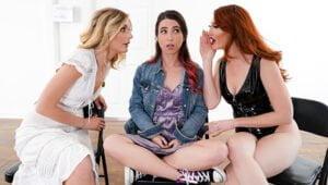 [GirlsWay] Kendra James, Serena Blair, Mona Wales (Between Heaven and Hell / 02.06.2020)