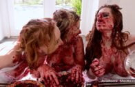 AnatomikMedia – Veronica Vain, Sasha Heart And Katy – Kiss Pie Whores
