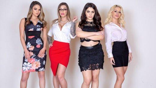 [BFFS] Athena Faris, Valentina Nappi, Karma RX (Scammers / 05.31.2020)
