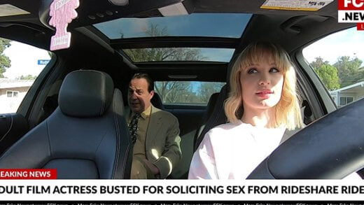 [BangFakeNews] Daisy Stone (Drives Rideshare And Picks Up Her Passenger With Her Pussy / 02.19.2020)