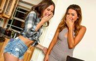 BrazzersExxtra – Riley Reid, Melissa Moore Almost Sisters