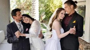 [DaughterSwap] Jasmin Luv, Hazel Moore (An Orgy Before The Wedding / 03.23.2020)