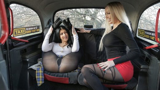 [FemaleFakeTaxi] Amber Jayne, Atlanta Moreno (Two Dirty Northern Sluts / 03.02.2020)
