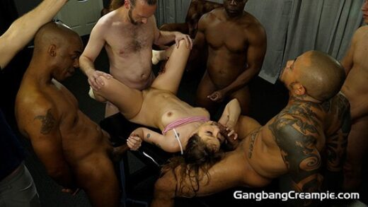 [GangbangCreampie] Rebecca Vanguard (G264 / 07.18.2020)