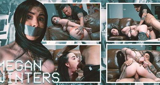 [InternetCreeper] Megan Winters (Bound And Broken Babysitter / 07.01.2018)