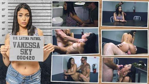 Free watch streaming porn LatinaPatrol Vanessa Sky E08 - xmoviesforyou