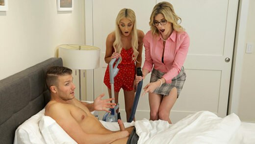 [MomsTeachSex] Cory Chase, Tallie Lorain (Mom His Dick Is Stuck In A Vacuum Cleaner / 05.31.2020)
