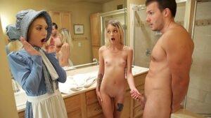FamilyStrokes – Kate Bloom, Audrey Noir, Addams Family Orgy, Perverzija.com