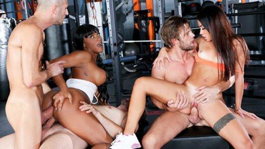 [RoccoSiffredi] Martina Smeraldi, Kiki Minaj (Fitness Sluts / 05.23.2020)