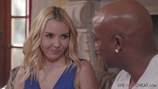 [SheWillCheat] Aaliyah Love (Blonde milf Aaliyah Love cheats on her husband with a handsome BBC man / 06.05.2020)