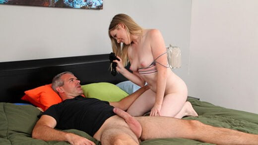 [StepSiblingsCaught] Nikki Sweet (Teaching Daddy A Lesson / 07.09.2020)