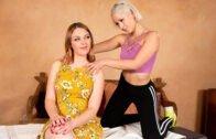 AllGirlMassage – Marie Mccray, Goldie Glock Tricking My New Step-Mom