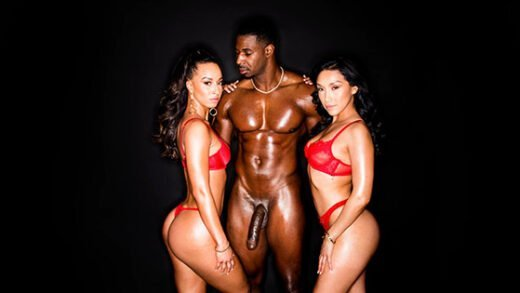 Blacked - Teanna Trump, Vicki Chase, Welcome Back