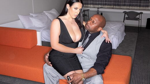 [JulesJordan] Angela White (Invites Prince Over For A Long Overdue Anal Excavation / 08.28.2020)