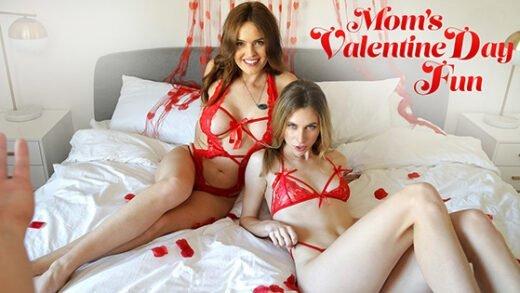 [MomsTeachSex] Anya Olsen, Krissy Lynn (Moms Valentines Day Fun / 02.08.2020)