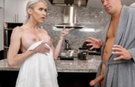 BangbrosClips – Casca Akashova, Hazel Heart Caught Nude By Stepmom