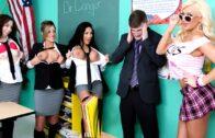 BigTitsAtSchool – Alexis Monroe, Would Taking Off My Alge-bra Help?
