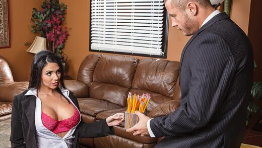 BigTitsAtWork - Missy Martinez Listening And Lust