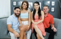 DaughterSwap – Mina Moon, Destiny Cruz Secret Underwear Exchange