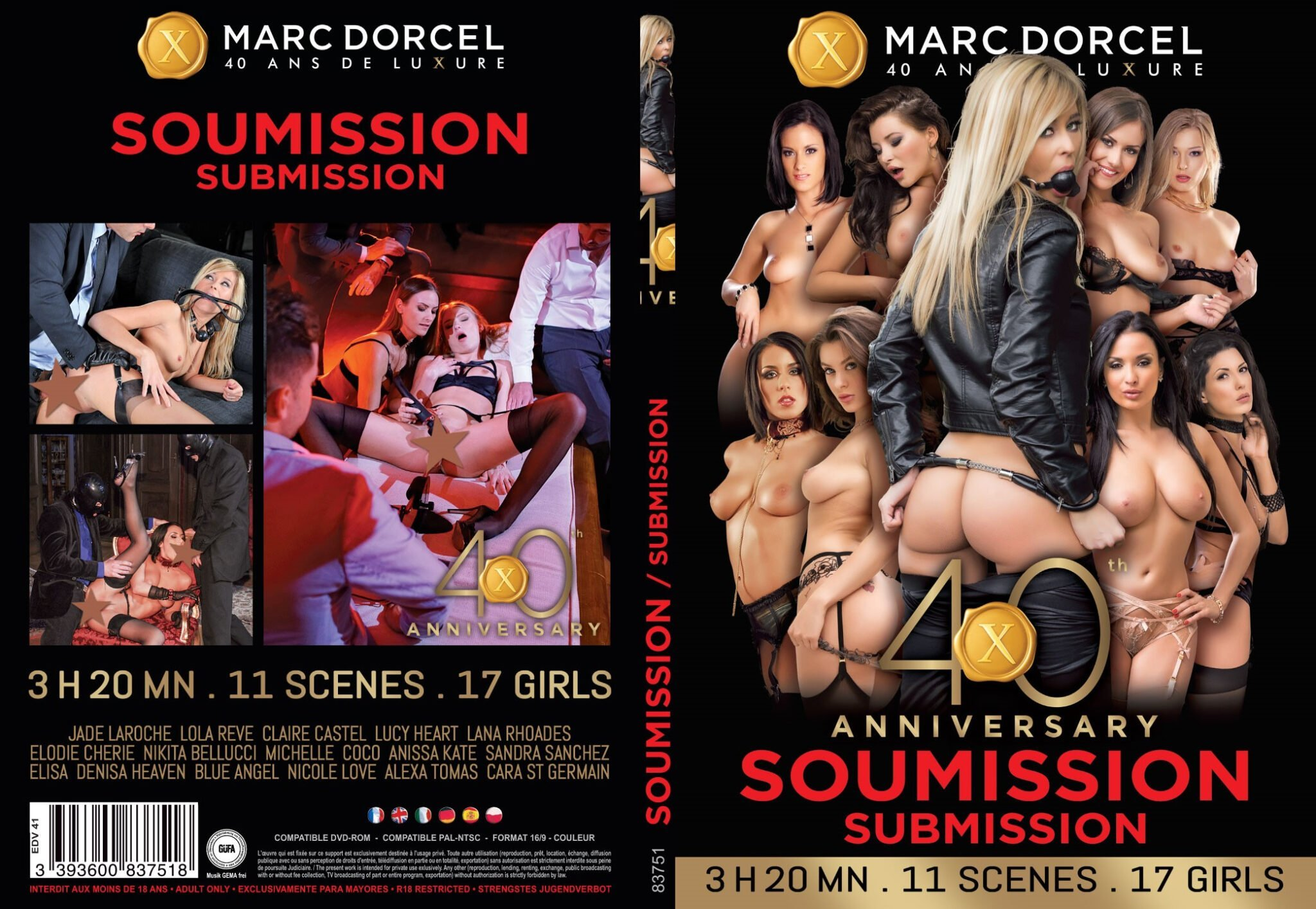Dorcel - 40th Anniversary - Submission (2019)