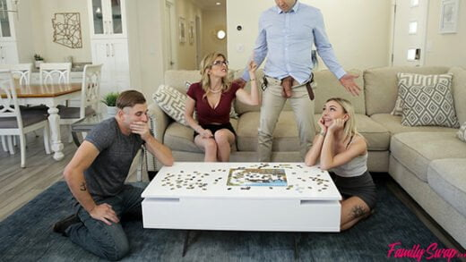 FamilySwapXXX - Chloe Temple, Cory Chase Family Swap Picking Up The Pieces
