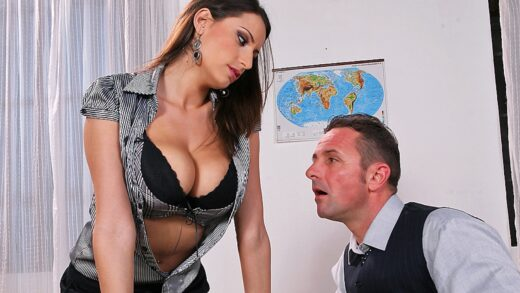 BigTitsAtSchool - Sensual Jane - Be Careful What You Tit For, It Might Cum True