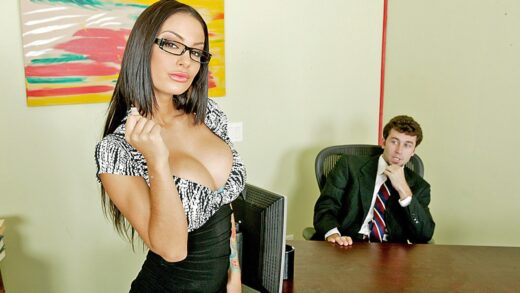 BigTitsAtWork - Angelina Valentine - A Real Office Whore