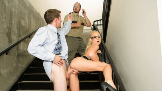 BigTitsAtWork - Madison Scott - We Really Shouldnt Be Doing This