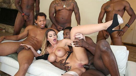 Free watch streaming porn BlacksOnBlondes Brooklyn Chase - xmoviesforyou