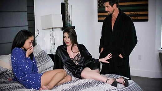 [FosterTapes] Bianca Burke, Alexis Tae (Foster Daughter Participates In Inappropriate Activity / 02.12.2020)