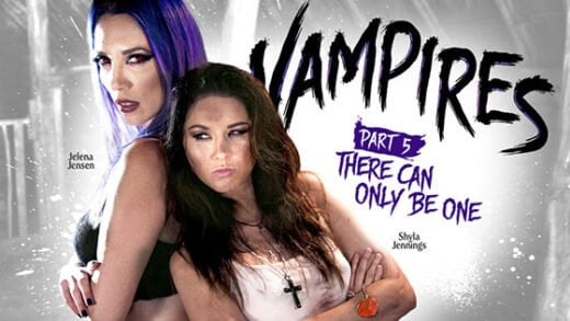 Free watch streaming porn GirlsWay - Shyla Jennings, Jelena Jensen - VAMPIRES- Part 5- There Can Only Be One - xmoviesforyou