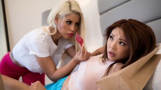 HotAndMean - Bridgette B And Ayumi Anime - Dykes In Debt