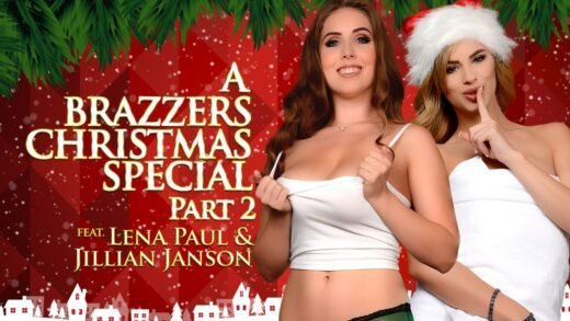 ZZSeries - Jillian Janson And Lena Paul - A Brazzers Christmas Special Part 2