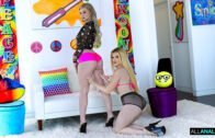 Swallowed – Melody Foxx, Nikki Sweet Double BJ Magic