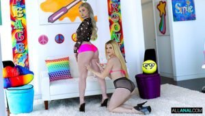 AllAnal – April Olsen, Anna Claire Clouds Anal ASSist, Perverzija.com