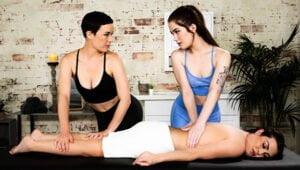 GirlsWay – Lacy Lennon, Olive Glass Holy Matri-Moly: Stuck With Bad Luck, Perverzija.com