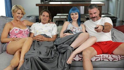 [FamilySwap] Jewelz Blu, Kit Mercer (Daddy Gives Gold Stars / 11.04.2020)