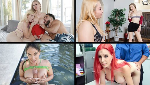 [MylfSelects] Alix Lynx, Mckenzie Lee, Casca Akashova, Lilian Stone (Troublesome Ladies / 11.24.2020)