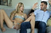 NubileFilms – Alyssa Bounty, Lady D Here For The Party