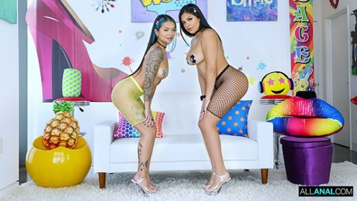 [AllAnal] Paisley Paige, Serena Santos (Anal Party / 12.18.2020)