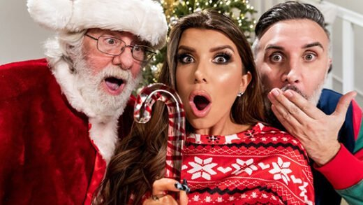 [BrazzersExxtra] Romi Rain (Claus Gets To Watch / 12.25.2020)