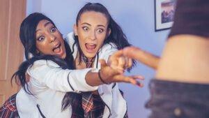 Private – Cindy Shine Schoolgirl Cindy Stars In Interracial DP Threesome, Perverzija.com