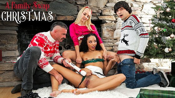 FamilySwap – Aaliyah Love, Alexis Tae A Family Swap Christmas, Perverzija.com