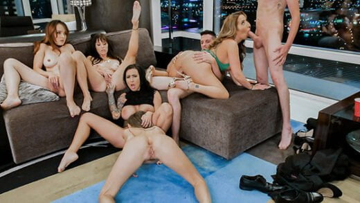 [Milfty] Alana Cruise, Cytherea, Lily Lane, Richelle Ryan, Pristine Edge (Divorce Party Dick Down / 11.24.2018)