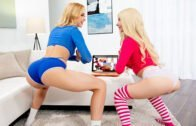 WebYoung – Chloe Cherry, Kenzie Reeves Trying Moms Special Workout