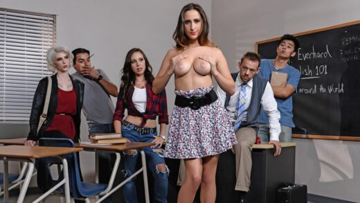 BigTitsAtSchool - Ashley Adams - Pretty Little Bitches Part One