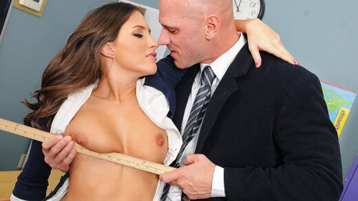 BigTitsAtSchool - Lizz Tayler - A Rumor That Goes Around Cums Around On Your Tits
