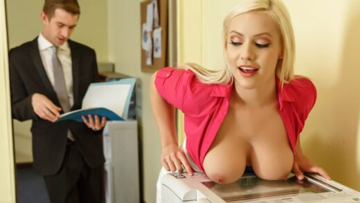 BigTitsAtWork - Kylie Page - Not Safe For Work