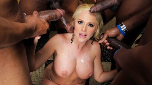 BigTitsatSchool - Alena Croft - City School Gangbang